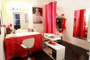 Satin Studios Dressing Room